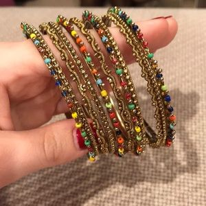Jewelry - Assorted Multicolor Bangles